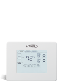 Description: <i>ComfortSense</i>® 7000 Series Touchscreen Thermostat